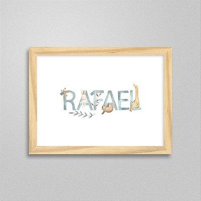 Quadro nome Rafael