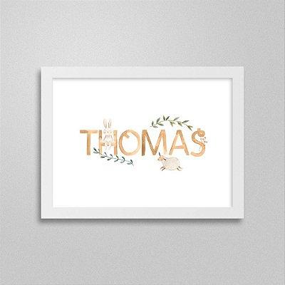 Quadro nome Thomas