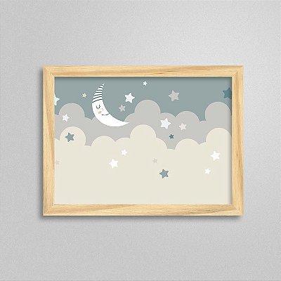 Quadro Aventura e Diversão - Lua