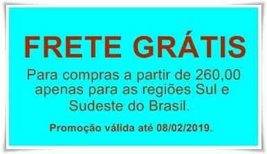 FRETE GRATIS 2019