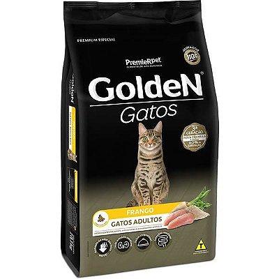 Ração Golden Gatos Adultos Sabor Frango