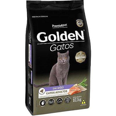 Ração Golden Gatos Adultos Sabor Salmão