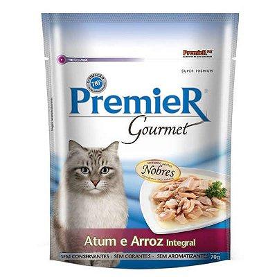 Ração Premier Pet Gourmet Sachê Atum para Gatos Adultos 70g