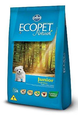 Ração Farmina Ecopet Natural Junior para Cães Filhotes de Raças Pequenas
