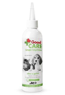 Limpa Lágrimas Mundo Animal Good Care para Cães e Gatos 100 ml