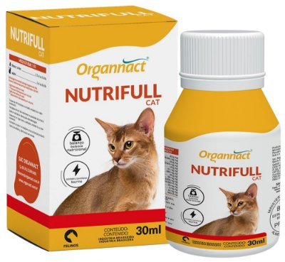 Suplemento Alimentar Nutrifull Organnact Cat - 30 mL