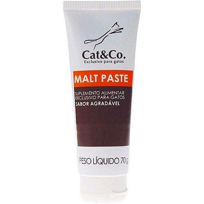 Suplemento Mundo Animal Cat & Co. Malt Paste para Gatos - 70 g
