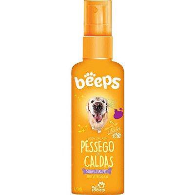 Deo Colônia Beeps Body Splash Pet Society Pêssego em Calda