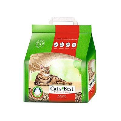 Areia Higiênica Cats Best para Gatos - 2,1Kg
