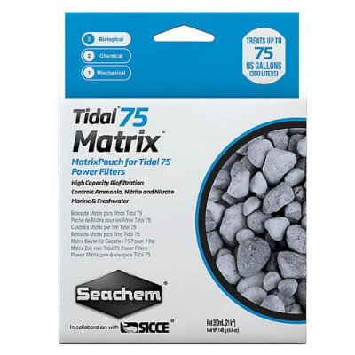 Seachem Refil Filtro Hangon Seachem Matrix Tidal 75