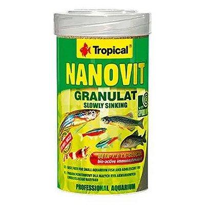 RAÇÃO NANOVIT GRANULAT TROPICAL