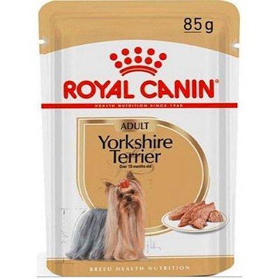 Sache Royal Canin Yorkshire AD Embalagem 85 Gr