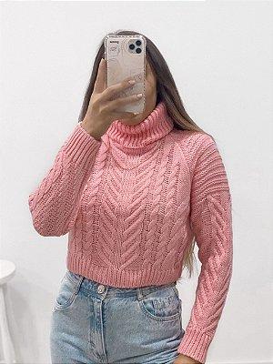 tricô alicia rosa