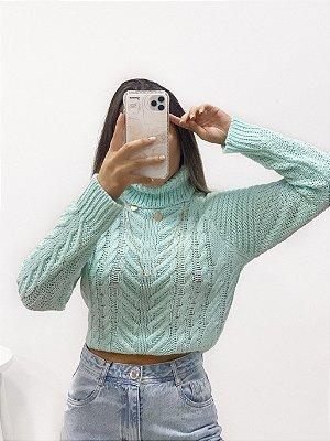 tricô alicia aqua