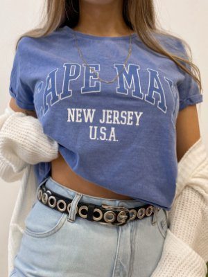 t-shirt cropped new jersey