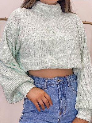 tricô mint anna
