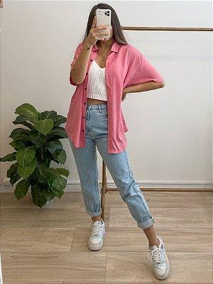 camisa isabela rosa