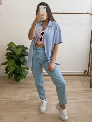 camisa isabela azul