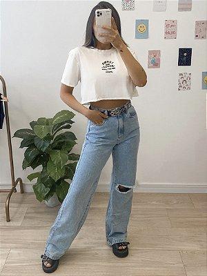 t-shirt cropped sweet bae