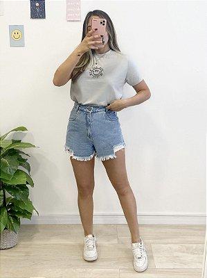 t-shirt cinza alright