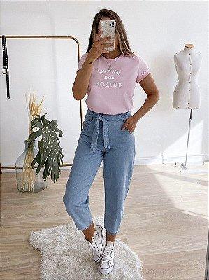 calça jeans baggy anitta