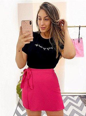 short saia alice pink