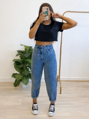 t-shirt cropped basic
