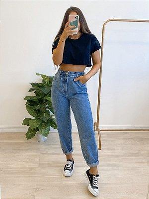 calça jeans slouchy beca