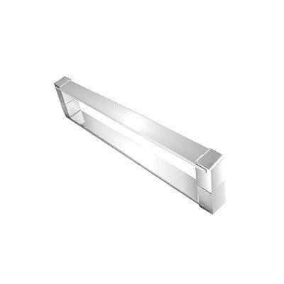 Puxador para portas de madeira e vidro 40 cm metal 600CS Grego Metal