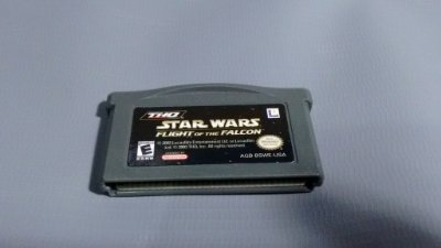 Jogo Star Wars Flight Of The Falcon GameBoy Advance