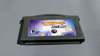 Jogo HotWheels All Out GameBoy Advance