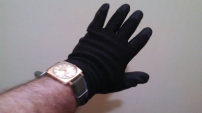 BLACK CARBON ANTI-STATIC GLOVE (10 PAIRS)