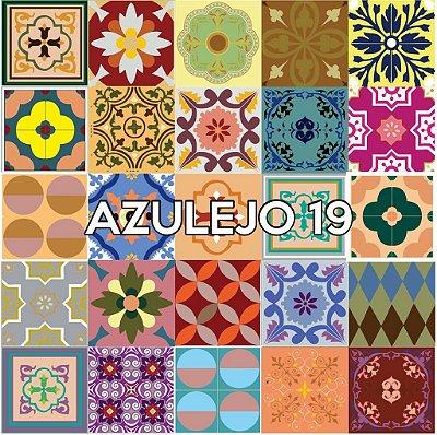 Azulejo 19 - Jogo 90pçs 15x15