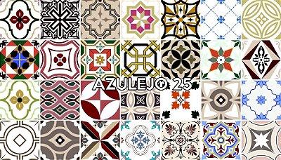 Azulejo 25 - Jogo 90pçs 15x15