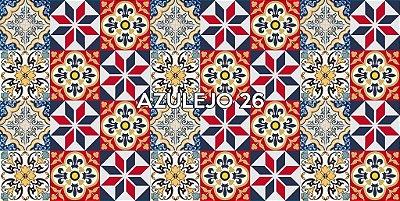 DUPLICADO - Azulejo 25 - Jogo 90pçs 15x15