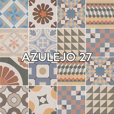 Azulejo 26 - Jogo 90pçs 15x15