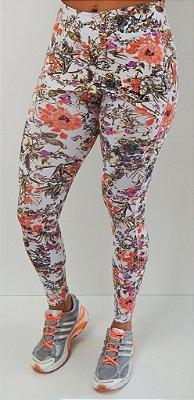 Lançamento - legging tapa bumbum estampa floral