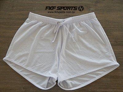 Saída de praia | Short com cadarço | Tecido dry fit