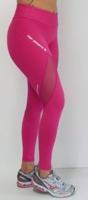 Calça Legging em suplex ultra - com recortes - detalhe de tela