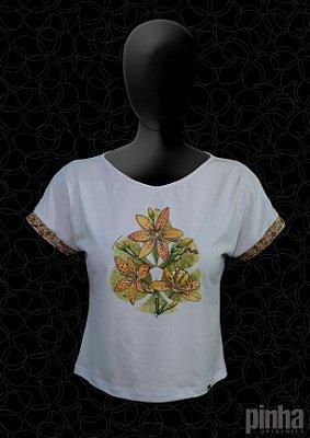 Blusa Flor Leopardo - Flores do mundo