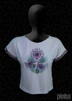 Blusa Margarida Africana - Flores do mundo