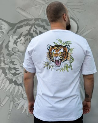 Camiseta Tigre de Bengala - Pinha ECO SCHOOL