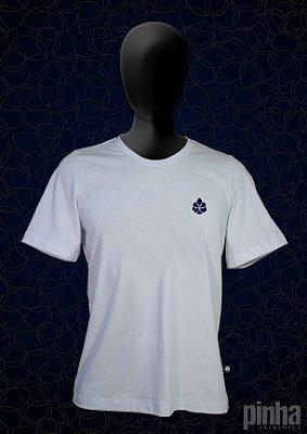 Camiseta básica logo Azul marinho - Pinha Originals