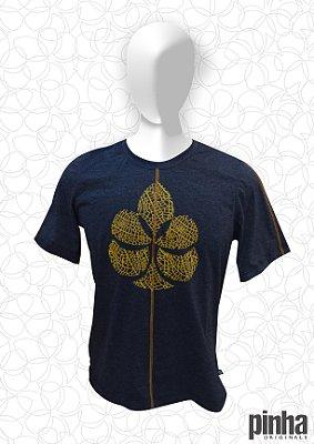Camiseta Logo Pinha Folha Laranja - Pinha Originals