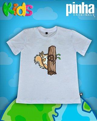 Camiseta Esquilo - Kids
