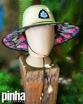 Chapéu Surf Camuflado Floreado - Pinha Originals