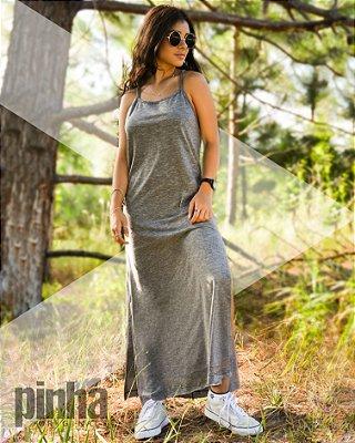 Vestido Long com alças - Pinha Originals