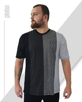Camiseta Half-Side- Sustentável 4 cores- Pinha Originals