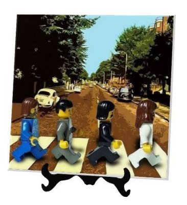 Azulejo personalizado Beatles Geek