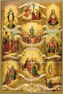 Mosaico Ave Maria